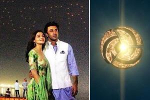 Alia Bhatt and Ranbir Kapoor's Brahmastra revealed its logo on Wednesday.