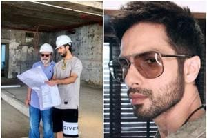 Shahid Kapoor shared a new picture with father Pankaj Kapur on social media.