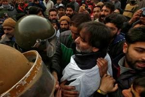 Yasin Malik, chairman of the Jammu and Kashmir Liberation Front (JKLF), was booked under the stringent Public Safety Act (PSA) and shifted to a jail in Jammu, prompting a separatist call for a general strike in the Valley on Friday.
