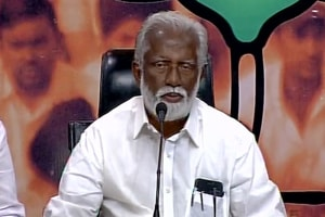 An official communique from the President's office said that Kummanam Rajasekharan's resignation had been accepted.