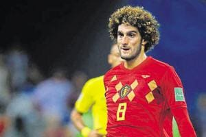 Marouane Fellaini calls time on Belgium career