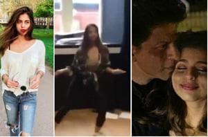 Suhana Khan lives in London, where she is attending college.