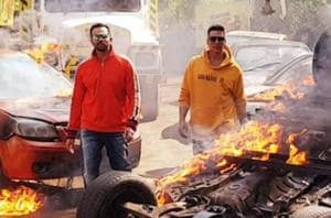 'Don't tell my wife', says Akshay Kumar as he plays with fire again, this time for Rohit Shetty's Khatron Ke Khiladi