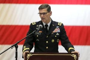 Terrorists operating out of Pakistan and Afghanistan are fuelling tensions between New Delhi and Islamabad according to Chief of US Central Command or CENTCOM General Joseph Votel.