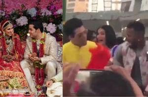 Akash Ambani and Shloka Mehta tied the knot in Mumbai in a glittering ceremony attended by the biggest of Bollywood stars.