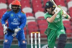 Ireland defeated Afghanistan by five wickets.