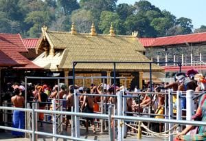 The festival will end on March 21. The temple will also get a new gold-plated door for the sanctum sanctorum when the hill shrine opens for the festival tomorrow.