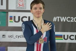 File image of Kelly Catlin.