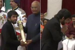 Padma Awards: Bajrang Punia, Sharath Kamal among sportspersons conferred with honour by President of India