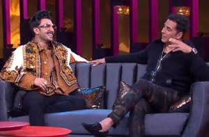 Ranveer Singh had shared the couch with Akshay Kumar on Koffee With Karan this season.
