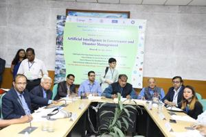 The Special Centre for Disaster Research, JNU, New Delhi in collaboration with NITI Aayog, NDMA, NIDM, ICSSR, Skymet Weather and Springer Nature is organising a three day Global Symposium on Artificial Intelligence in Governance and Disaster Management at Convention Centre, JNU from March 11-13, 2019.