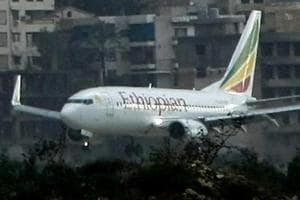 Ethiopian Airlines has grounded its Boeing Co 737 MAX 8 fleet until further notice.