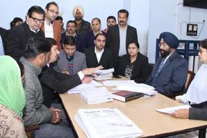 In a significant step towards clearing the massive backlog of 1,367 cases, Lok Adalats held by the State Legal Services Authority (SLSA) cleared 882 cases in Gurugram district on Saturday, officials said.