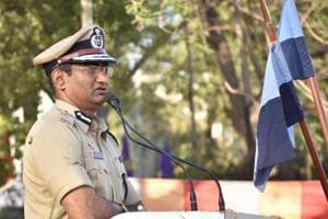 Special IG Wadke was in the city to inspect an all women's parade on Monday, a day after the model code of conduct was enforced by the Election Commission of India.