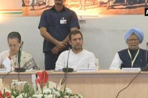 Rahul says 'will win battle', as Cong brainstorms for LS polls