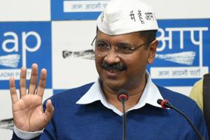 Delhi CM Arvind Kejriwal said on Tuesday that a survey conducted by the AAP had revealed that 56% of Delhi residents thought the BJP alleged politicising the recent tensions between India and Pakistan were viewed unfavourably by voters.