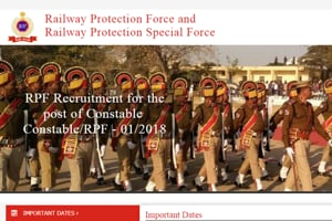 RPFConstable shortlisted candidates list out today