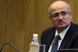 Foreign secretary Vijay Gokhale during a press conference in New Delhi.