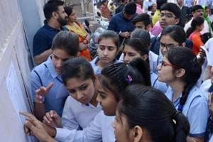 The district education officials said that majority of the students who failed to appear for the examination belong to migrant families from Uttar Pradesh and Bihar and visit their native places around this time.