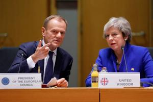 Brexit deal rejected second time, triggers call for new approach