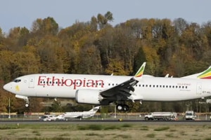 """The U.S. is issuing an emergency order Wednesday grounding all Boeing 737 Max 8 and Max 9 aircraft """"effective immediately,"""" in the wake of the crash of an Ethiopian Airliner that killed 157 people, President Donald Trump said."""