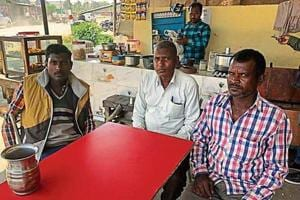 In Saharanpur's Nanauta, a group of men from Jatav community calls the Centre anti-Dalit and voices support for the BSP.