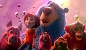 The principal characters are somewhat bland. Even the girl's relationship with her parents comes across as tepid. But this is made up for by a talented supporting voice cast that includes Mila Kunis as a warthog, John Oliver as a porcupine and Ken Hudson Campbell as a sheepish blue bear.