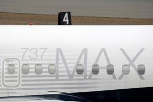 A Boeing 737 MAX 8 aircraft is parked at a Boeing production facility in Renton, Washington on March 11.