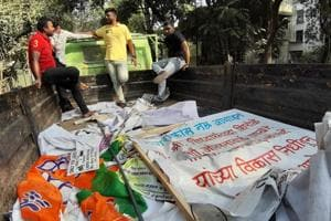 #puneinpixels: Election code of conduct kicks in, Pune cleans up