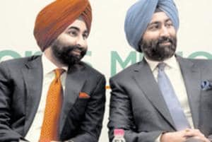The Supreme Court Thursday asked former Ranbaxy promoters Malvinder Singh and Shivinder Singh to apprise it how they propose to comply with the Rs 3500 crore arbitral award passed against them by a Singapore tribunal..(Photo by Parveen Kumar/Hindustan Times)