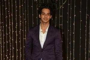 Actor Ishaan Khatter arrives at Priyanka Chopra and Nick Jonas third wedding reception at Taj Lands
