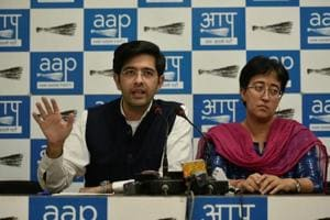 AAP's South Delhi Lok Sabha constituency candidate Raghav Chadha has written a letter to chief electoral officer  regarding ads in outdoor media to ensure fair polls.