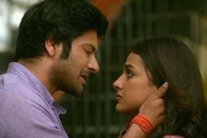 Milan Talkies movie review: Ali Fazal and Shraddha Srinath in a still from Tigmanshu Dhulia's film.