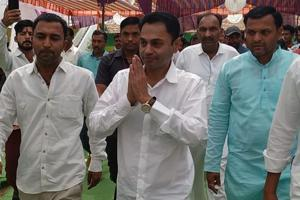 Madhya Pradesh chief minister Kamal Nath's elder son Nakul Nath (44) has started campaigning for the Congress.