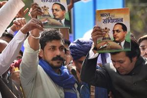 Chandrashekhar Azad, chief of the Dalit-led Bhim Army, announced on Friday that he would contest the general elections from Varanasi, Prime Minister Narendra Modi's constituency.