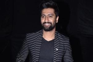 Actor Vicky Kaushal during the grand finale of Times Fresh face 2019 in Mumbai on March 08, 2019.