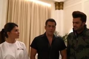 Salman Khan shared a video explaining the reason why his event in Dubai got cancelled. Also in it were Jacqueline Fernandez and TV host Maniesh Paul.