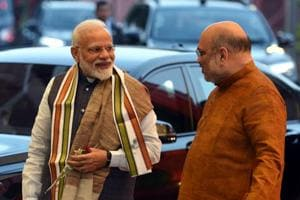 Prime Minister Narendra Modi and Bharatiya Janata Party president Amit Shah presided over a a marathon meeting that stretched close to midnight on Saturday to discuss candidates for the Lok Sabha elections.