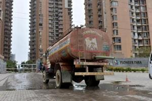 About 750 families are living in Pioneer Park — society's daily water need roughly is 6 to 6.5 lakh litres.