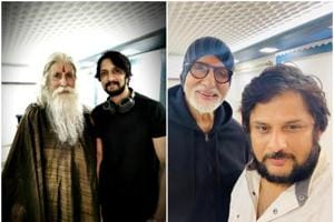 Sye Raa Narasimha Reddy director Surender Reddy and actor Sudeep took to Twitter to thank Amitabh Bachchan for being part of the film.