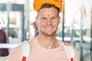 Steve Smith joined the Rajasthan Royals ahead of the new IPLseason.