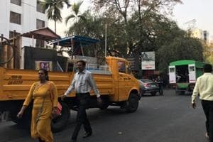 The anti-encroachment department of Pune Municipal Corporation (PMC) carried out a drive in localities between Deccan and Agriculture college areas and Camp on Saturday.