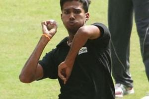 A file photo of Sandeep Warrier.
