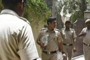 The station house officer (SHO) and two constables of the Sarita Vihar police station on Thursday allegedly assaulted a 44-year-old shopkeeper in Jasola Vihar. (Photo by Raj K Raj / Hindustan Times)Representative Image