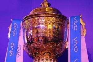 A file photo of Indian Premier League (IPL) trophy.