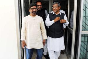 CPI leader D Raja had called on Hemant in Delhi and expressed party's willingness to contest the Hazaribag Lok Sabha seat