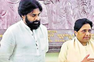 BSP chief Mayawati has announced her party's alliance with actor-turned-politician Pawan Kalyan-led Jana Sena Party (JSP) in Andhra Pradesh for the 2019 Lok Sabha Elections.