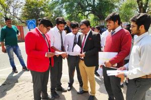 CBSE question paper analysis : A number of CBSE Class 12 maths students, who appeared in the examination on Monday, said that the paper was of average difficulty level and a bit lengthy.
