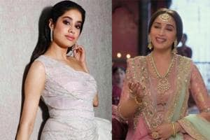 Janhvi Kapoor spoke about watching Madhuri Dixit in Sridevi's role in Kalank.