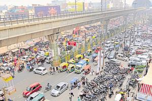 Traffic is another concern that tops the agenda for many new voters in Noida and Greater Noida.